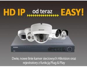 HIKVISION - seria EASY HD IP