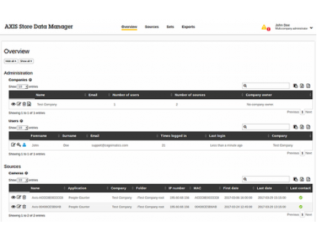 AXIS Communications Axis Store Data Manager