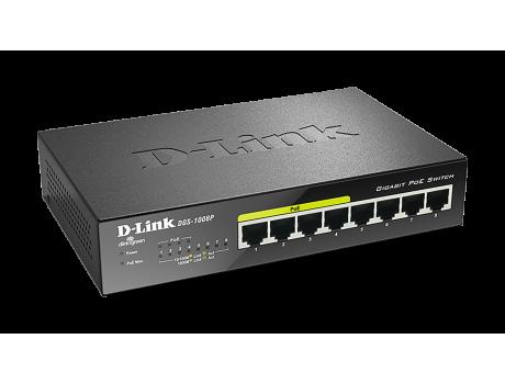D-Link DGS-1008P/E